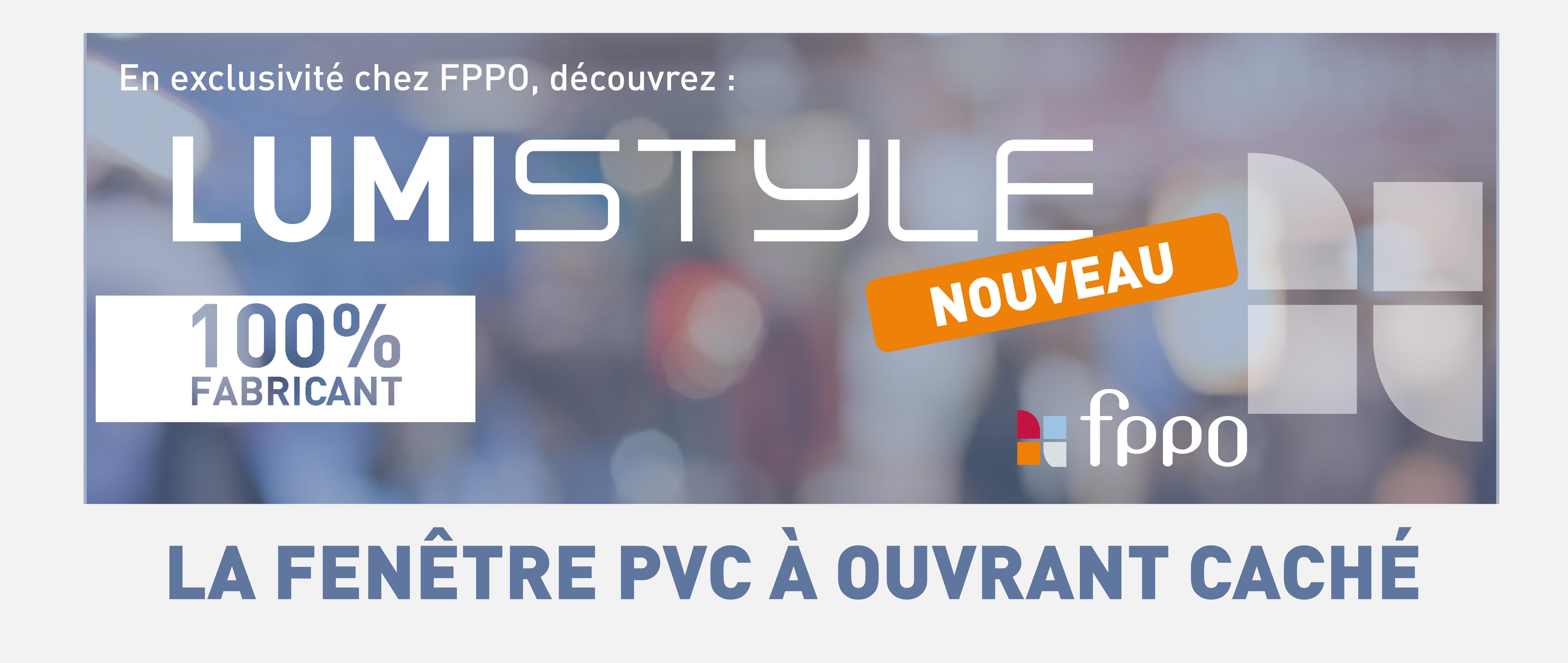 EXCLUSIVITÉ FPPO: LUMIstyle, un ouvrant caché PVC !