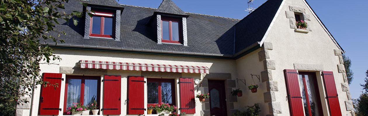 PVC - Plaxé Rouge RAL 3011