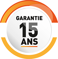 GARANTIE 15 ANS SUR LE PVC*